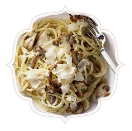 Espaguete com Funghi