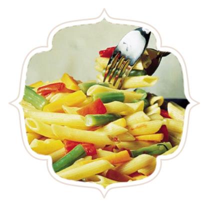 Salada de Macarrão com Anchova