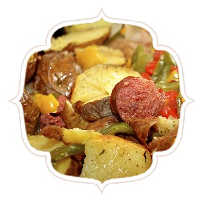 Linguiça Calabresa Cardeal Gratinada Com Batatas